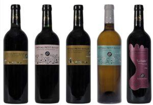 la gamme des vins du château petit guillo
